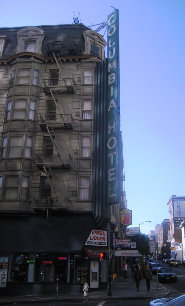 Columbia Hotel - San Fran 2013