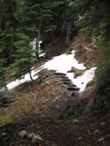 Steps on McClellan
