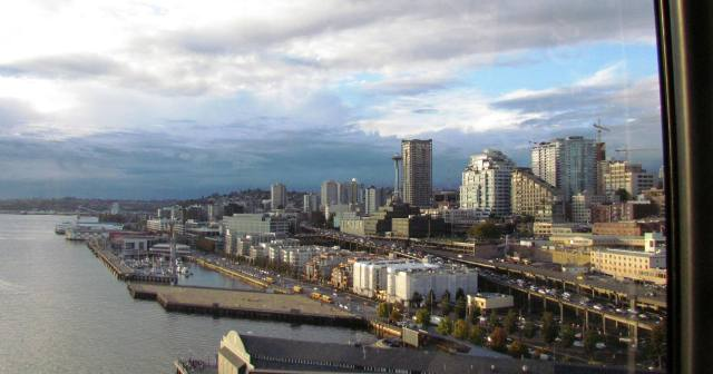 Seattle from the Wheel Sept. 2015