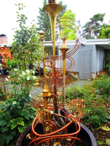 At the Bellevue Botanical Gardens