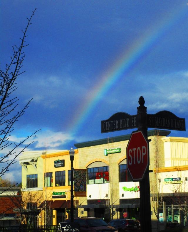 Rainbow off Center Blvd. 2015