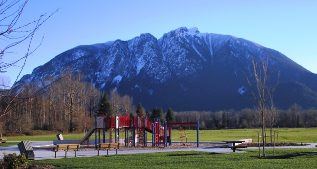 Mount Si from Tollgate Park 12.31.15