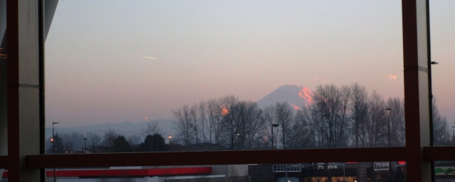 Mount Rainier from the Mall 1.8.16