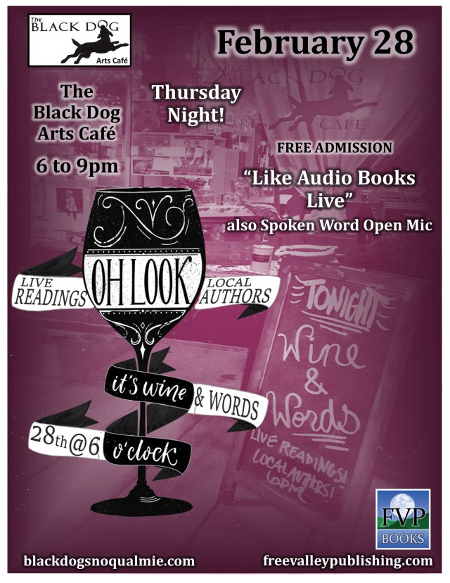 Wine and Words Flyer Feb 19