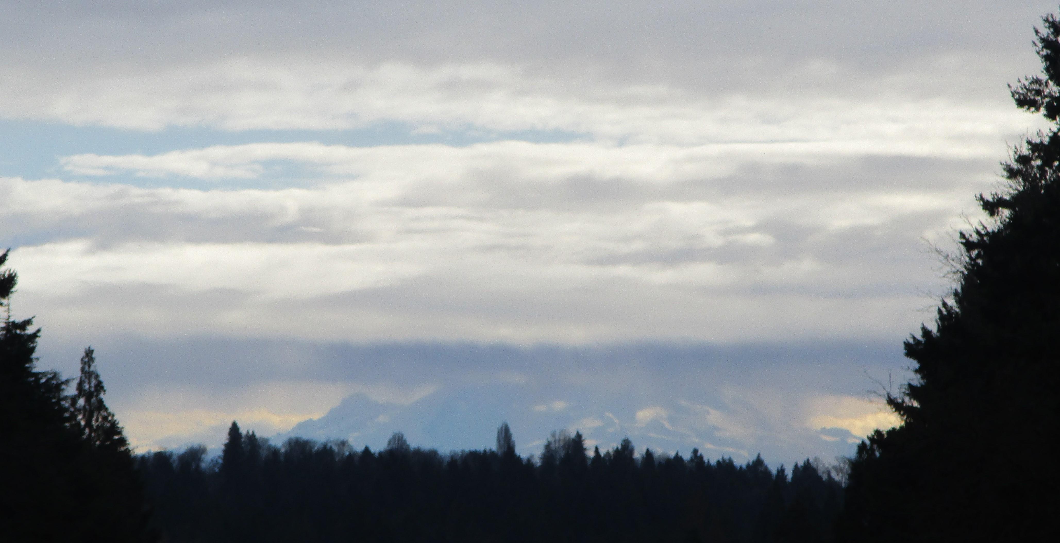 Mount Rainier January 2020
